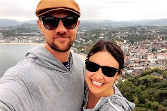 Kathryn Schurtz and her fiance Joseph Kearney