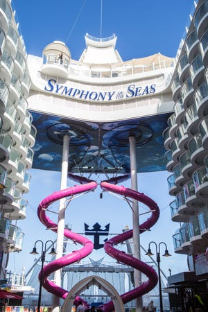 Symphony of the Seas, Royal Caribbean International's newest and largest ship.