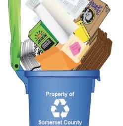 Somerset County residents will be getting new recycling bins