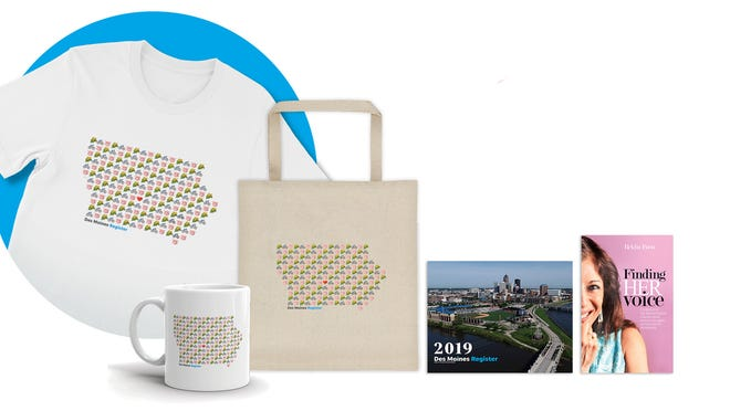 Iowa gifts available from the Des Moines Register