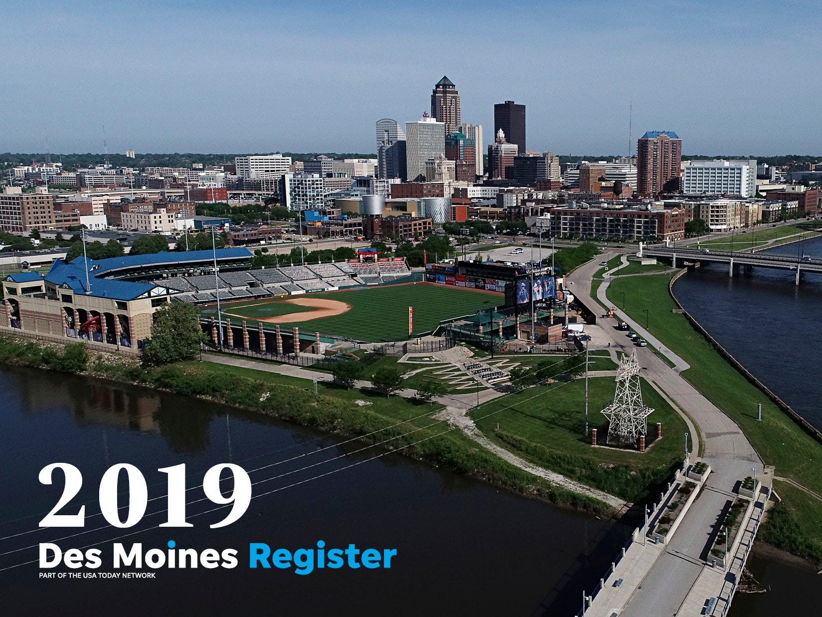 "The cover of the 2019 Des Moines Register photo calendar features a beautiful drone shot of downtown Des Moines. The calendar is available for $18 at <a href=""https://shopdmregister.com/collections/photo-gifts/products/2019-des-moines-register-photo-calendar?utm_source=desmoinesregister&utm_medium=link&utm_campaign=launch_gallery"" target=""_blank"">ShopDMRegister.com. </a>"
