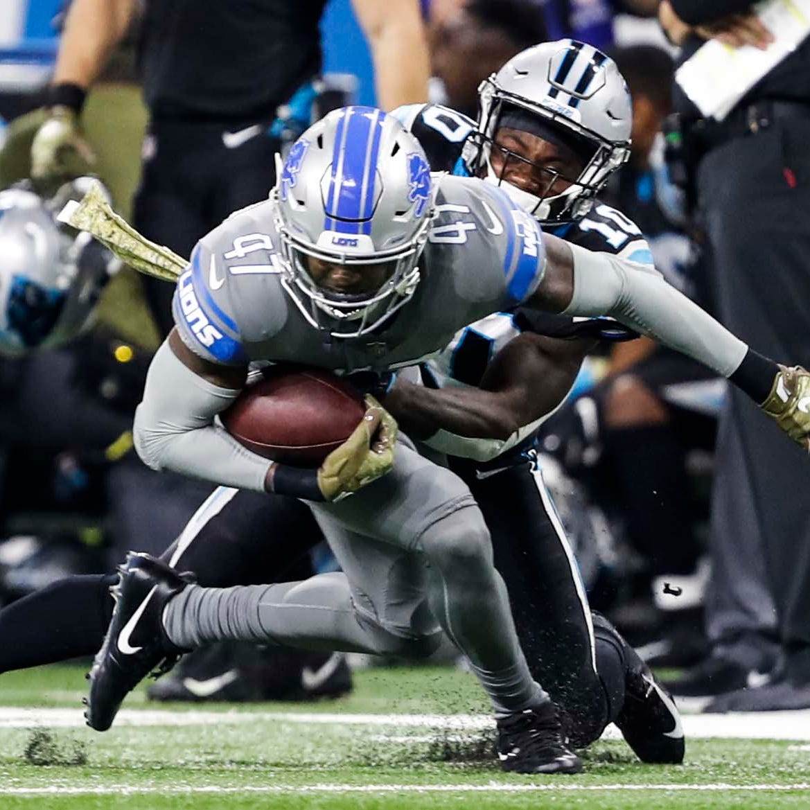Detroit Lions Tracy Walker isn't going to let the Buffalo cold stop him