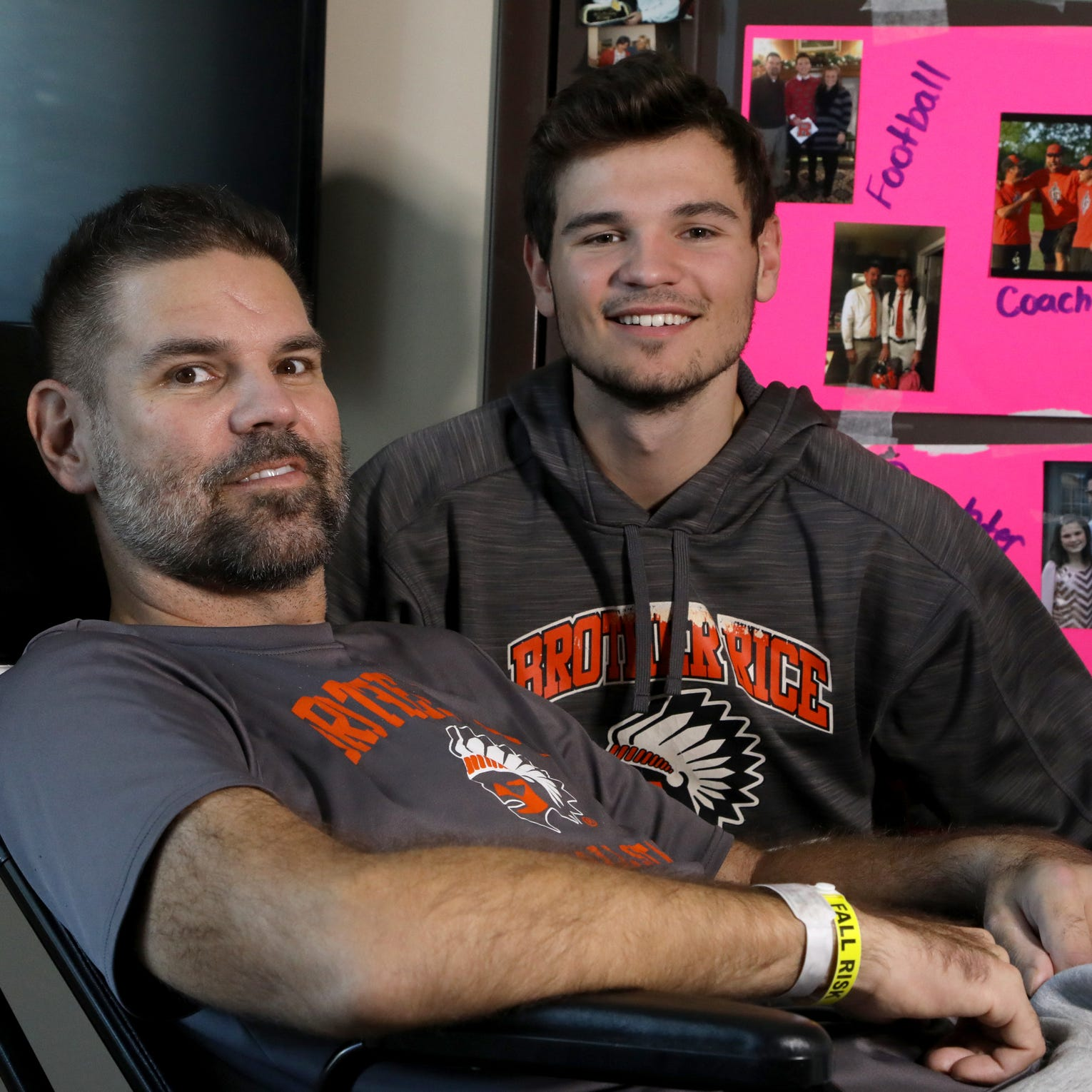 Brother Rice football assistant chooses to inspire after cheating death