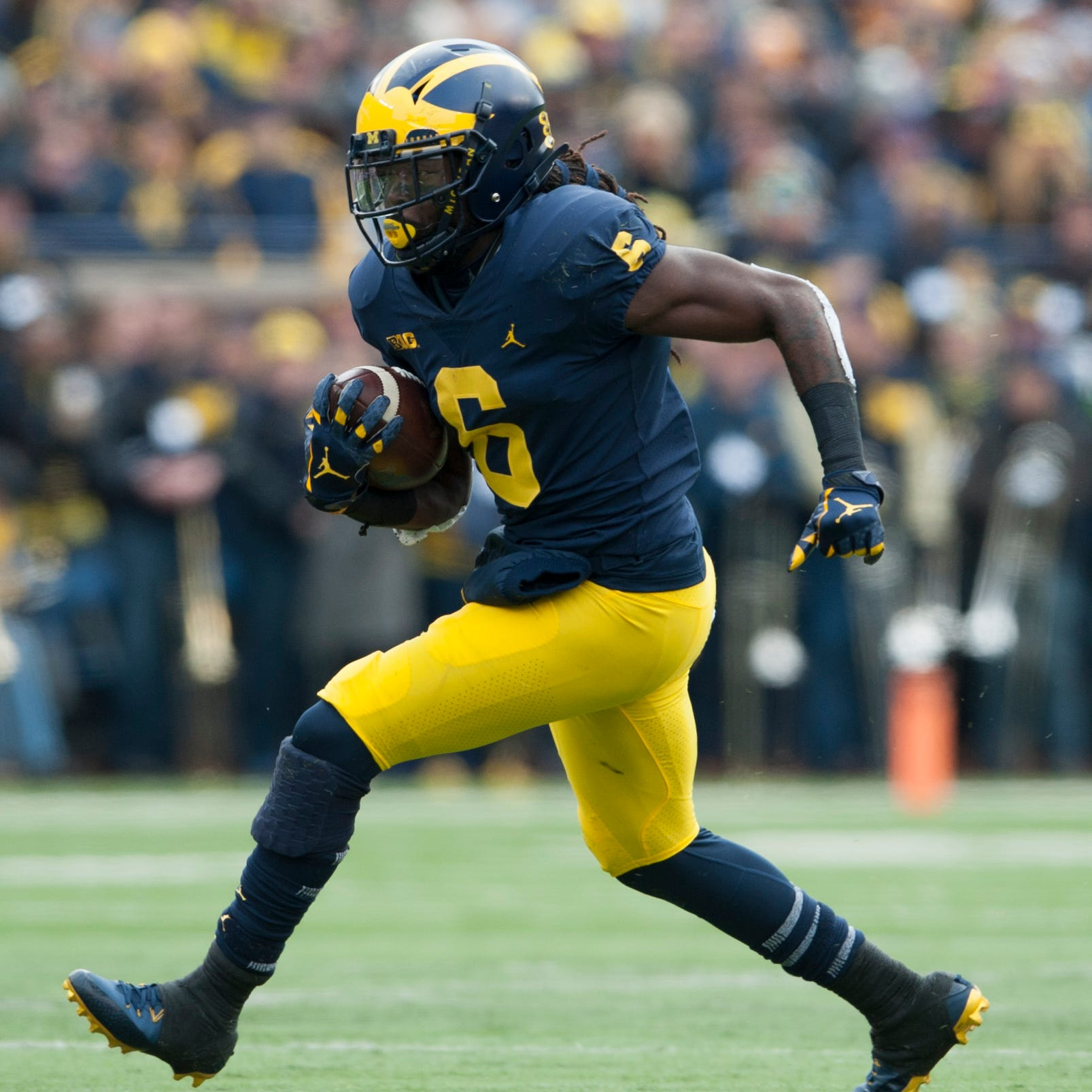 Former Michigan RB Kareem Walker commits to Mississippi State