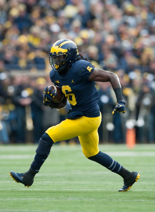 2d2e44cc48a6 Ex-Michigan running back Kareem Walker commits to Mississippi State