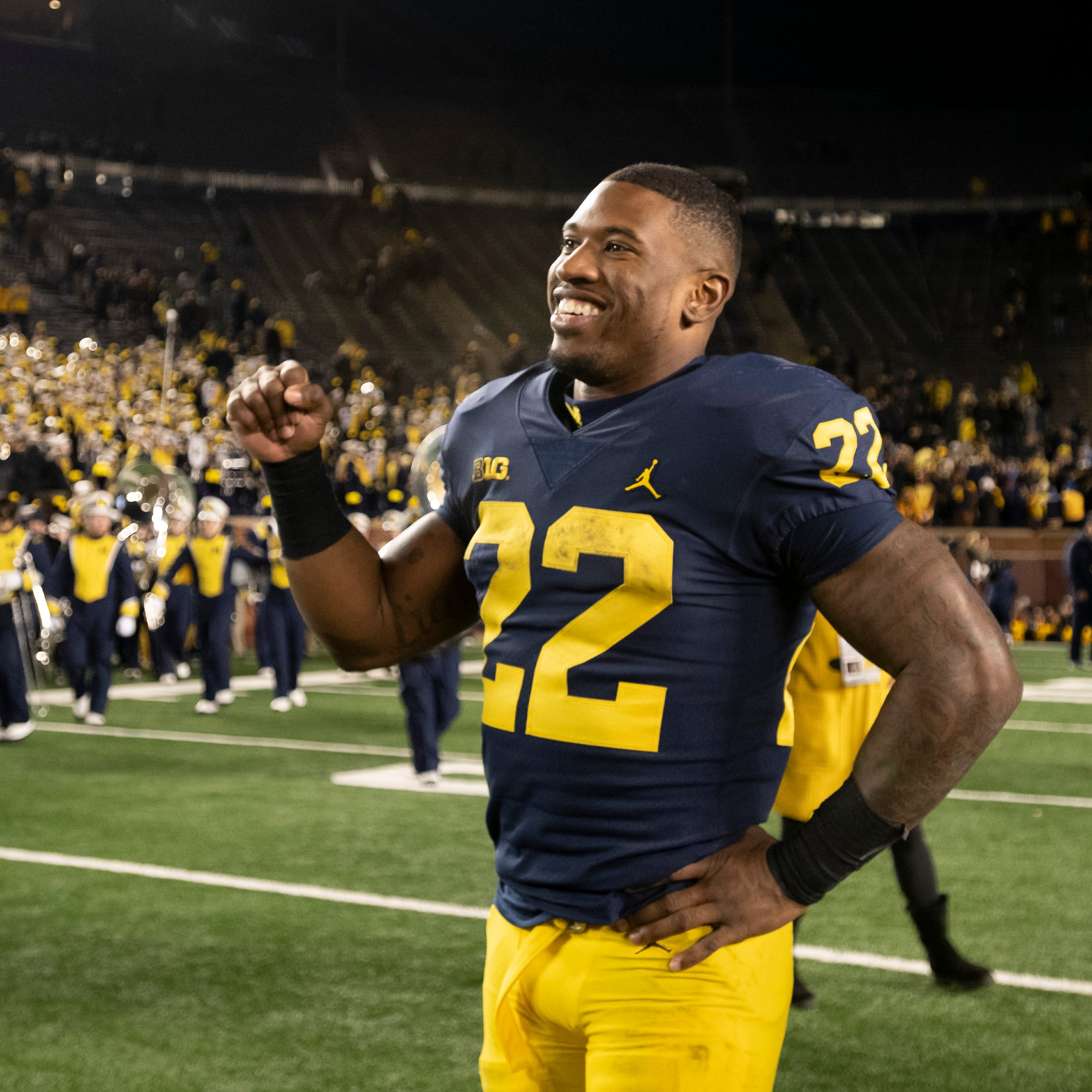 Karan Higdon guarantees Michigan win over Ohio State