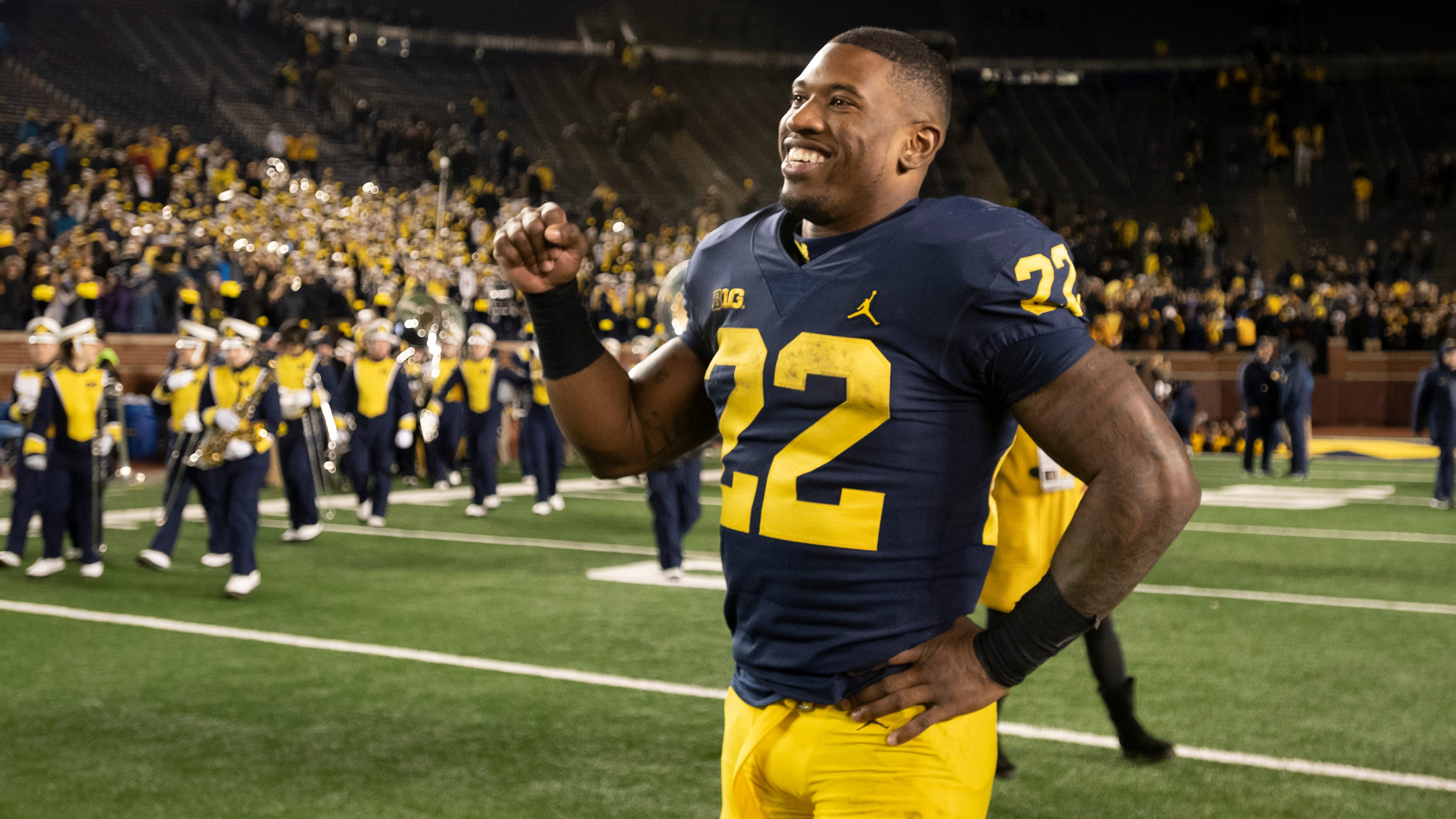 Karan Higdon Guarantees Michigan Football Win Over Ohio State