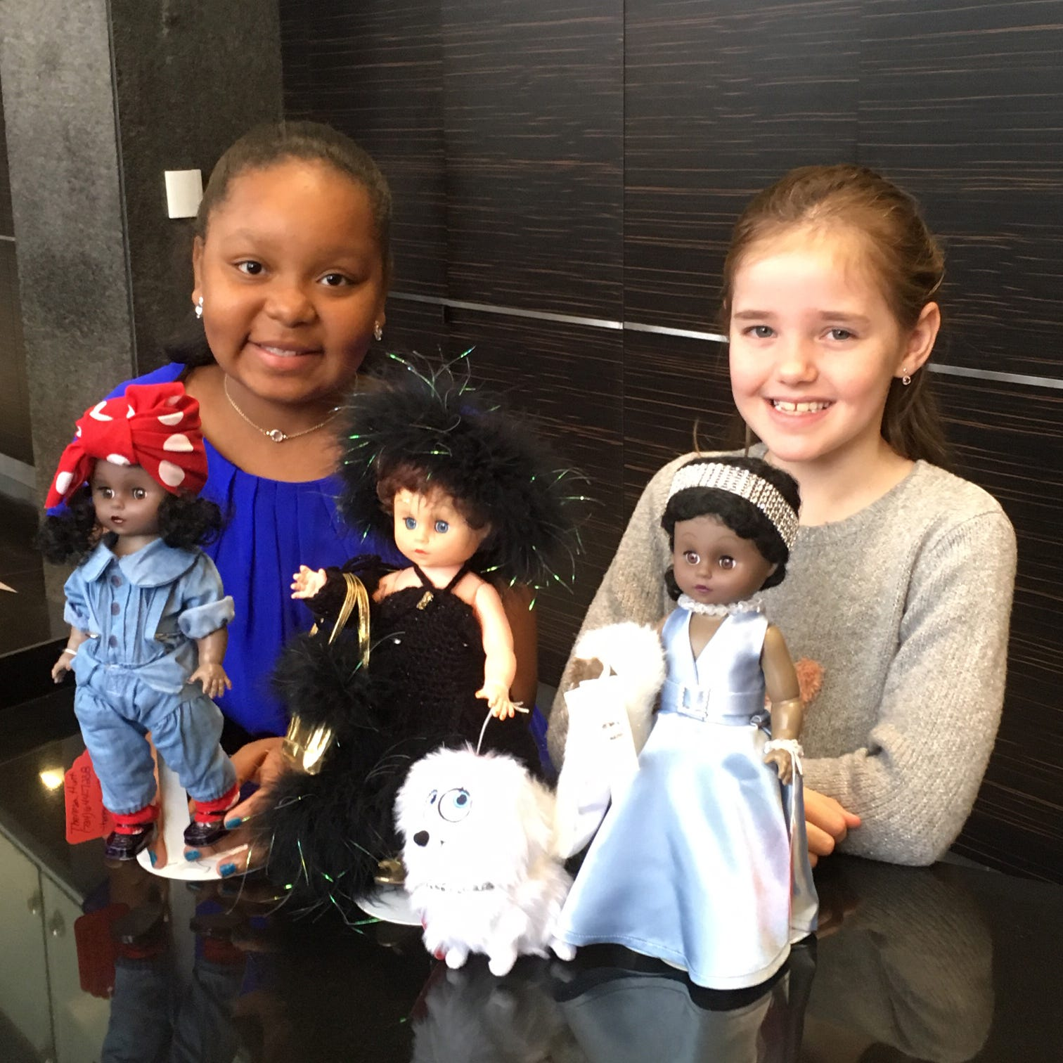 A riveting Rosie wins Goodfellows' doll contest