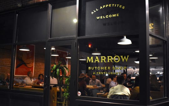 Marrow Detroit is a butcher shop and restaurant that is selling meat for curbside pick-up and delivery.
