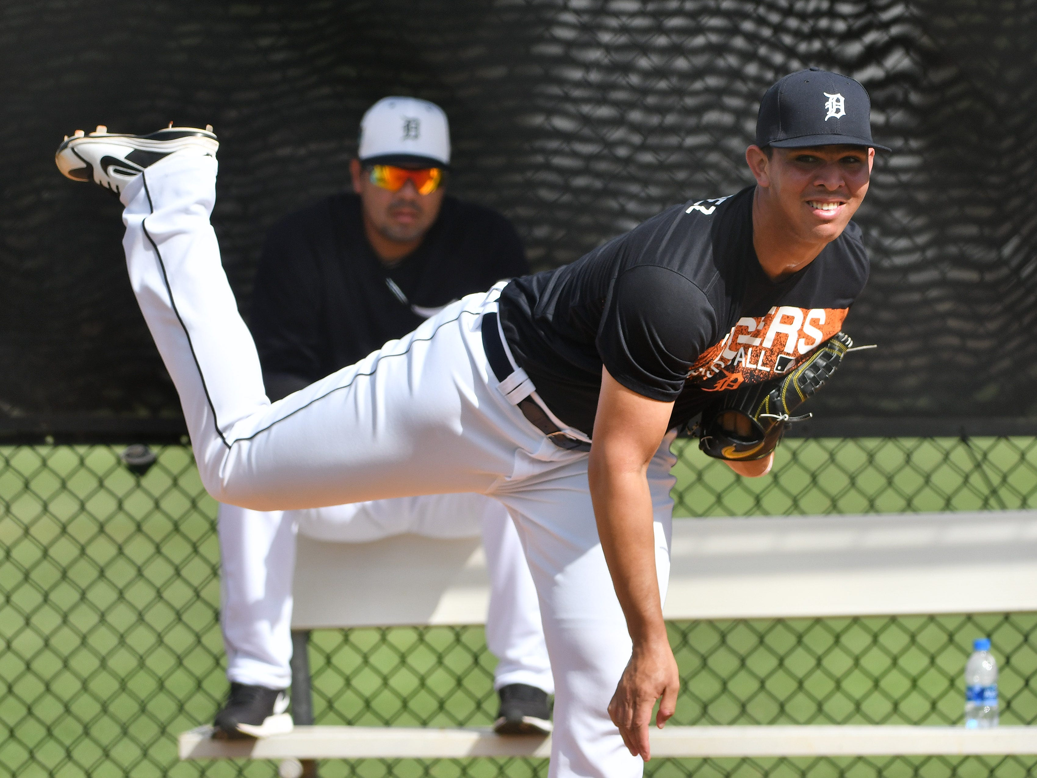 The Tigers added pitching prospect Franklin Perez to their 40-man roster Monday, protecting him from the Rule 5 draft.