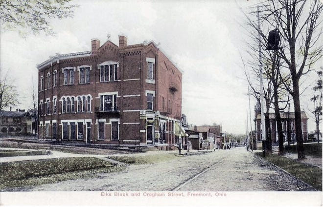 The Elks Lodge met in this 1890 building from its first years, and it soon became known as the Elks Block.