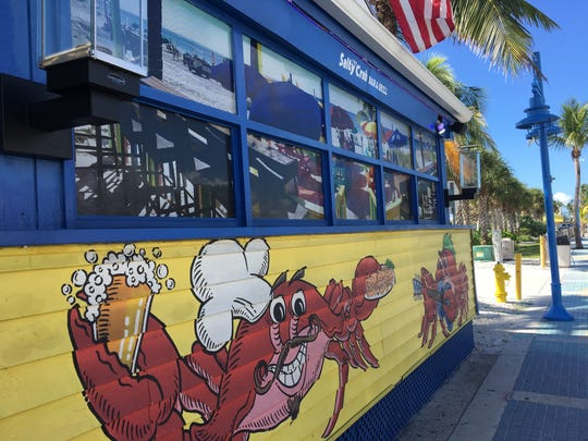 The Salty Crab on Fort Myers Beach opened in June 2015.