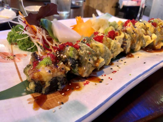 The Ninja roll from Ninja Thai & Sushi in south Fort Myers.