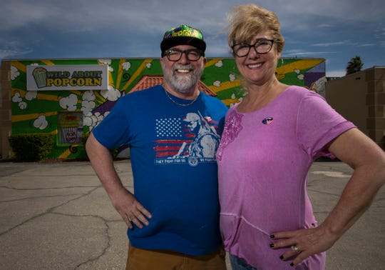 Ed and Julie Caracappa are the owners of Wild About Popcorn in Cape Coral.