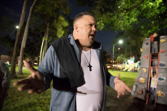 Once homeless himself, Jack Frost sought to fill a void when the Salvation Army stopped weekend feedings in Fort Myers Lions Park. Through a grassroots effort, People Helping People of Southwest Florida, Frost helps organize free meals in the park two Saturdays a month.