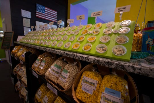 Wild About Popcorn in Cape Coral offers a large variety of flavors and options that are made in house.