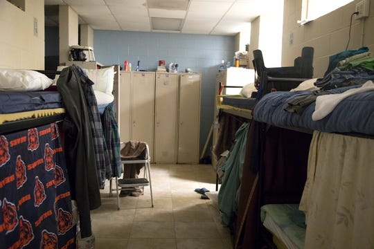 A dorm room at Salvation Army's Fort Myers campus serves men enrolled in its branded, bible-based substance abuse recovery program Crossroads. The six-month program offers housing and structured work programs for 40 men.