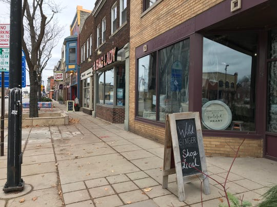 Local retailers like Wild Ginger and A Bag Lady are preparing for Small Business Saturday on Broadway in Green Bay.