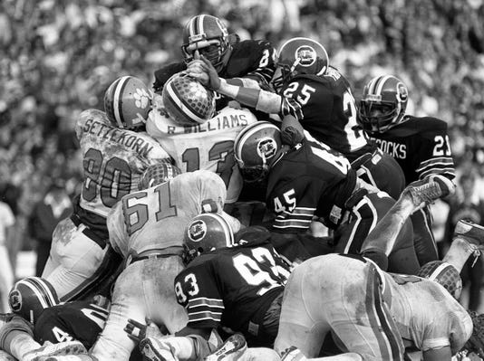 Clemson South Carolina Football 1985