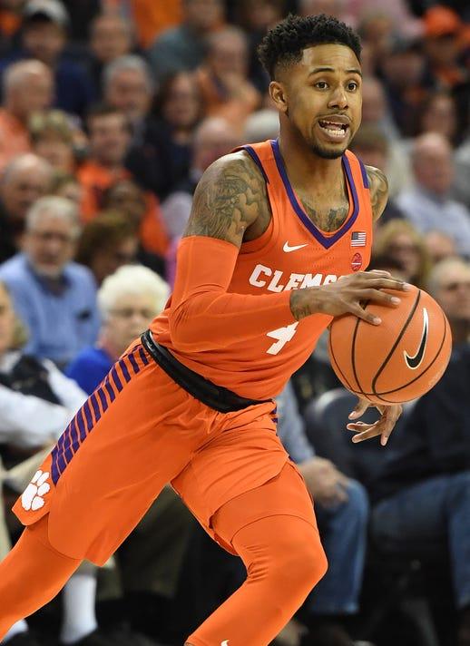 Clemson Virginia Basketball