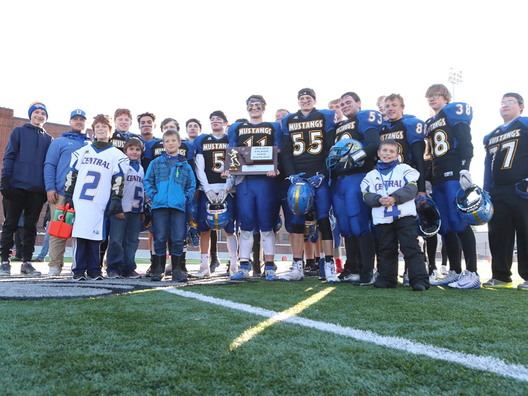 The Great Falls Central Mustangs finished runner-up in Class C eight-man football this season.