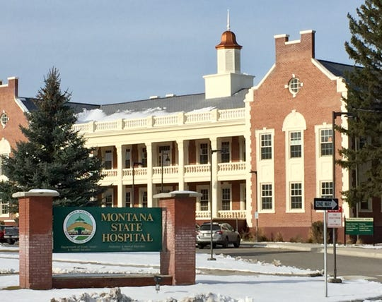 Montana State Hospital in Warm Springs