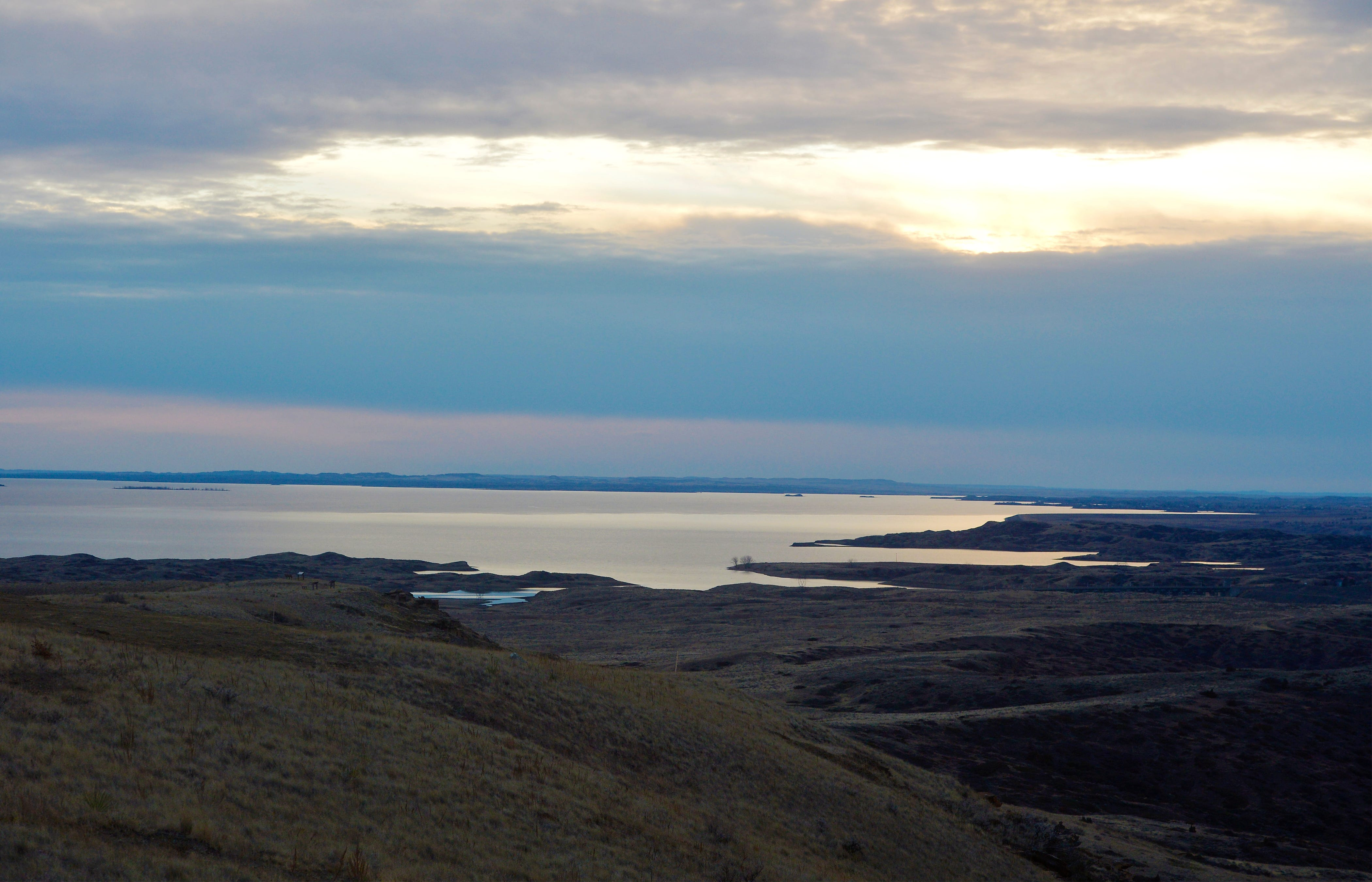 Fort Peck Lake.