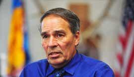 Hearing to remove Chairman Floyd Azure turns heated