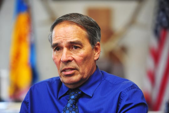 Chairman Floyd Azure says the Fort Peck Tribes want the current route of the Keystone XL Pipeline moved because it is upstream from the intake of the water system serving residents throughout northcentral Montana.