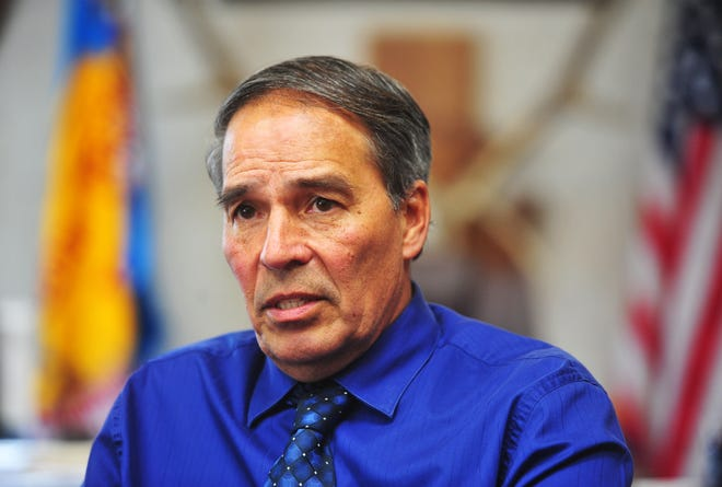 Fort Peck Tribal Chair Floyd Azure was suspended Thursday.