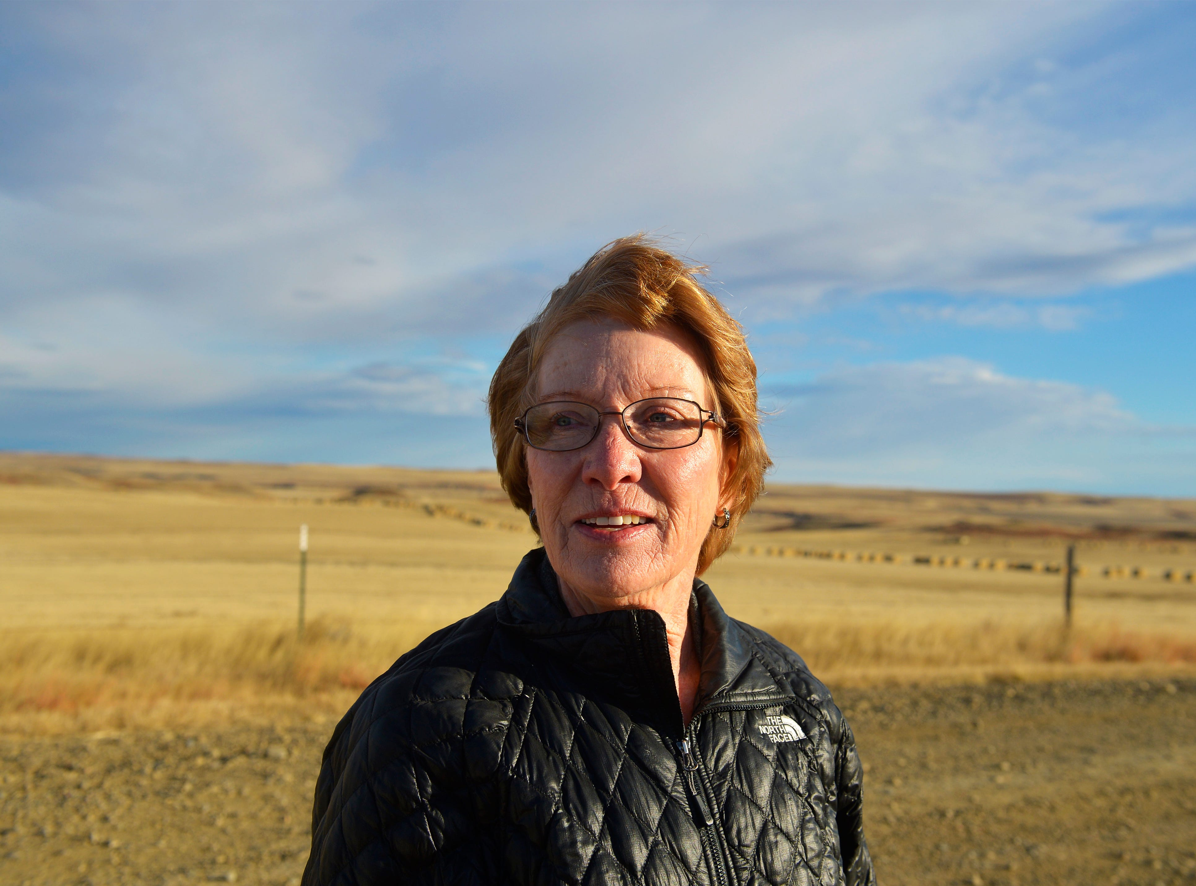 McCone County rancher Janet Wolff has granted TransCanada an easement for the Keystone XL Pipeline on her ranch outside of Circle, Mont.