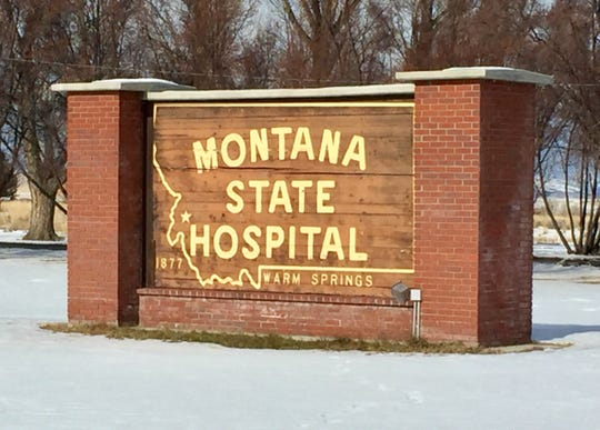 The Montana State Hospital in Warm Springs.
