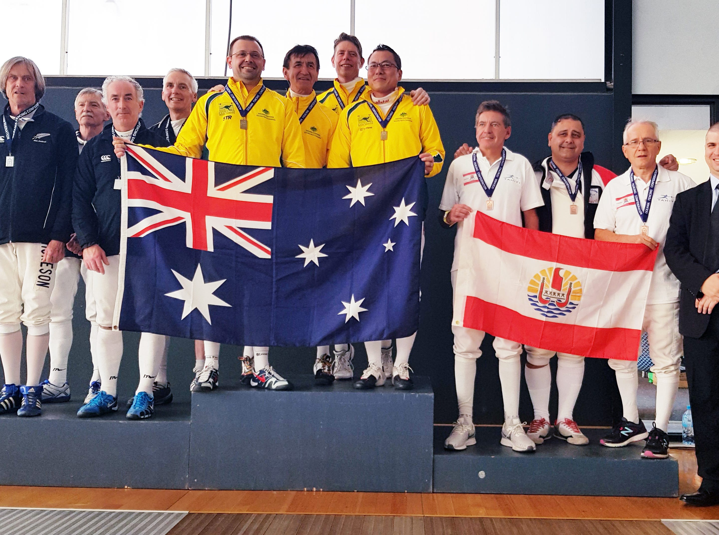 Anthony Camacho earns fencing bronze with Tahiti team