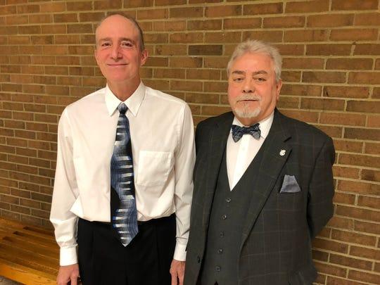 Spencer-Van Etten's newest Graduates of Distinction, Don Brock, left, and Donald Parks.
