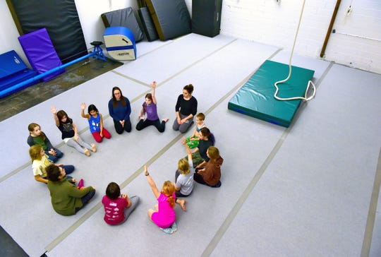 Circus Culture, located in Press Bay Alley in downtown Ithaca, offers circus classes for both kids and adults. November 15, 2018.