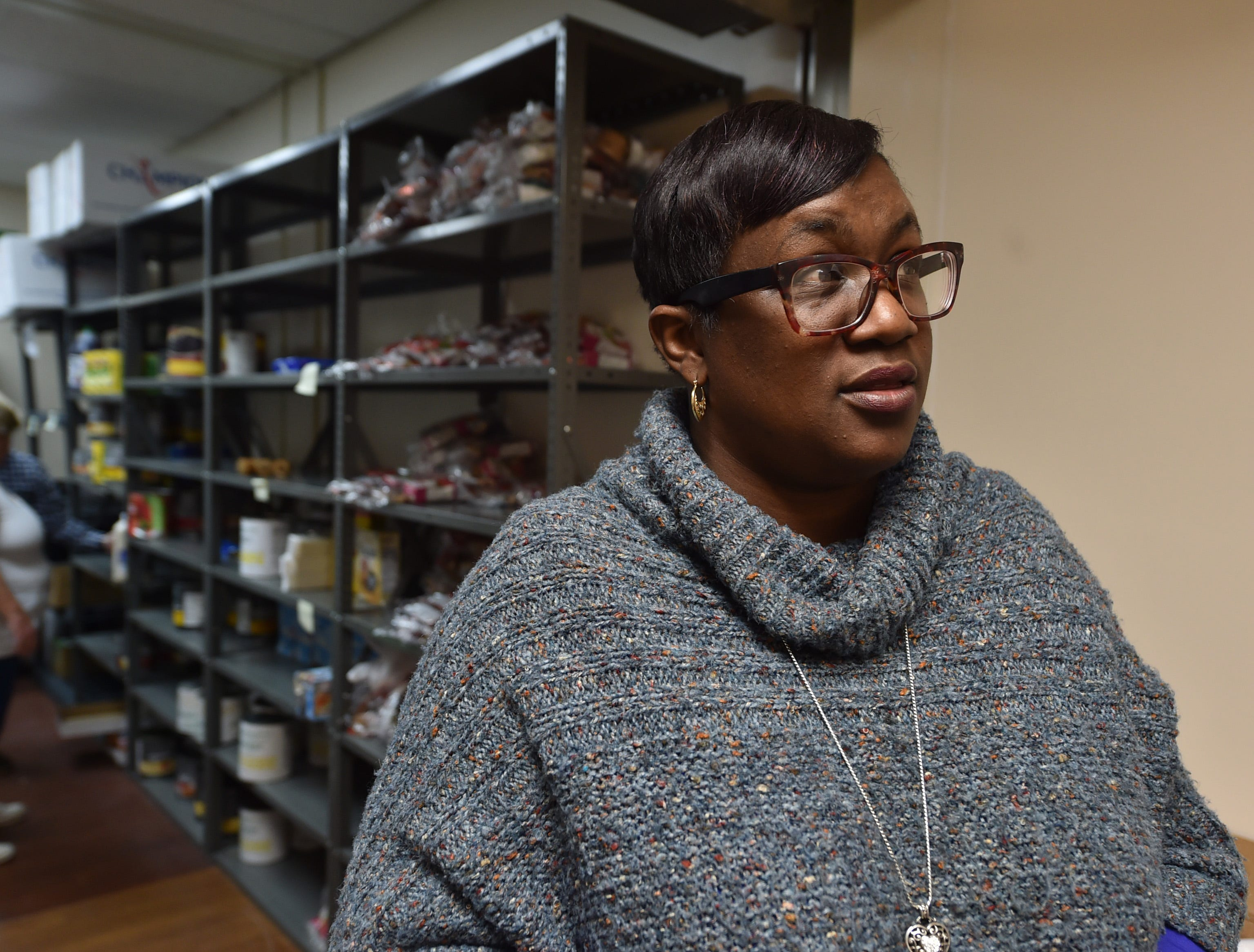 An inside look at the new Jackson pantry providing food for hungry veterans