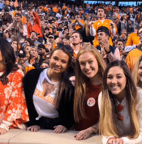 UT student Hannah James becomes a viral meme for her reaction to Vols' loss against Mizzou