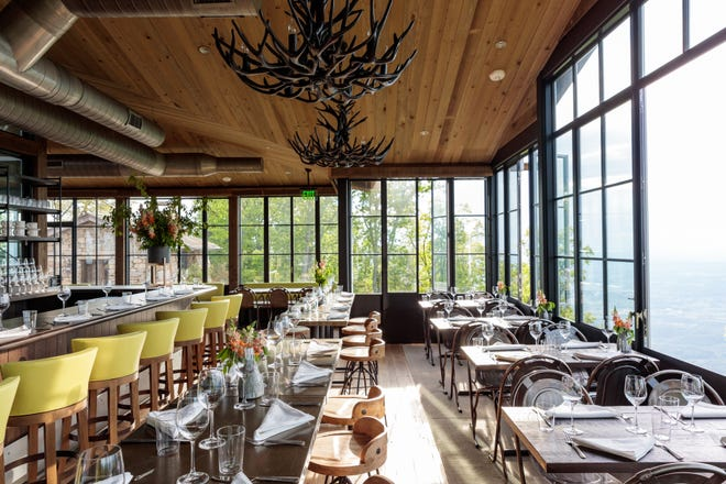 The Firetower restaurant at Blackberry Mountain resort will serve light fare for breakfast, lunch and snacks when the resort opens in February.