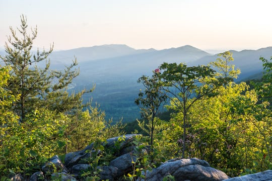 Blackberry Mountain resort sits on 5,200 acres of land in East Tennessee's Great Smoky Mountains.