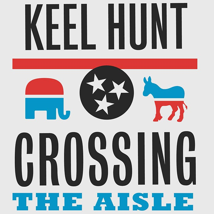 """Crossing the Aisle"" by Keel Hunt"