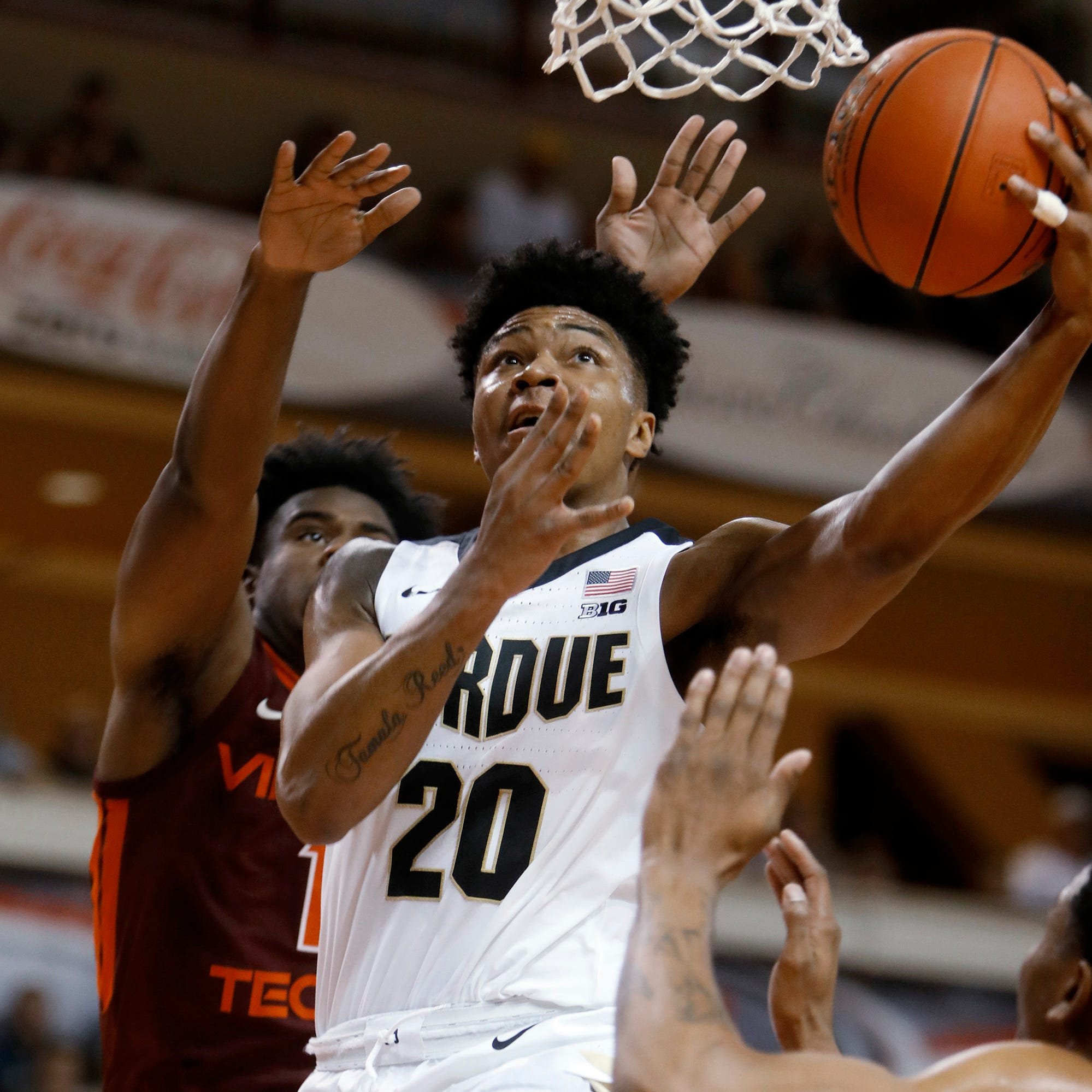 No. 16 Virginia Tech rallies past No. 23 Purdue in Charleston Classic championship game