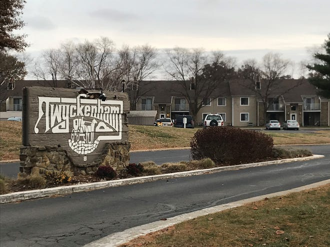 A man in the 3300 block of Pebble Court was stabbed by a man who was rummaging through the victim's car about 3 a.m. Saturday, police said.