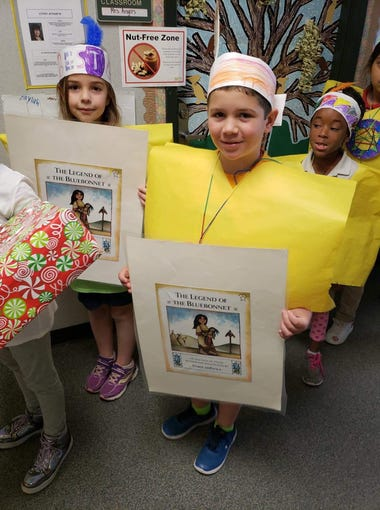 charles burke elementary school celebrates with character parade