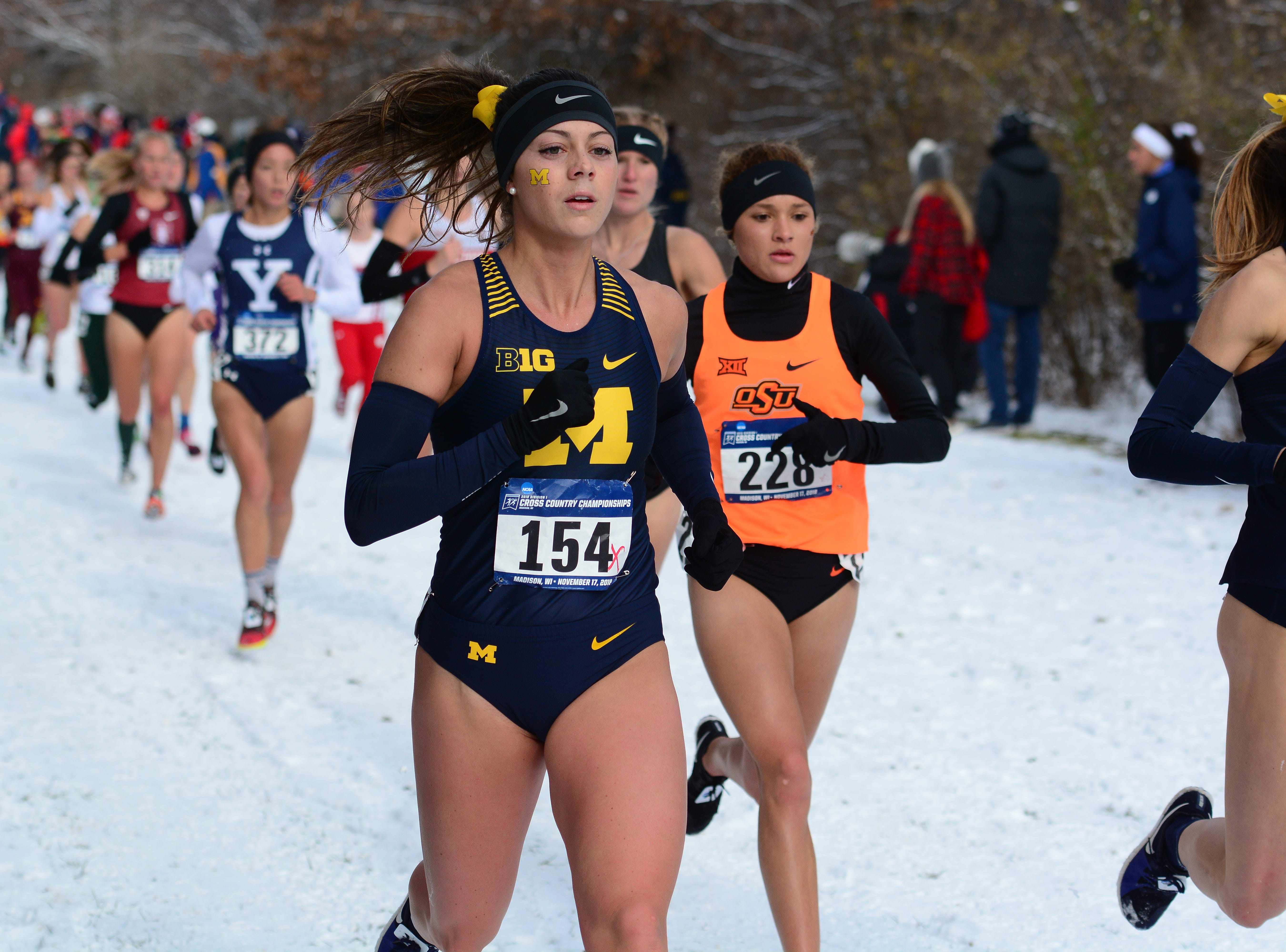 Hartland's Avery Evenson earns All-America in final cross country race at Michigan