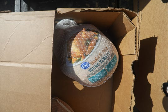 If your turkey is still frozen, can you carry it through security and onto an airplane?