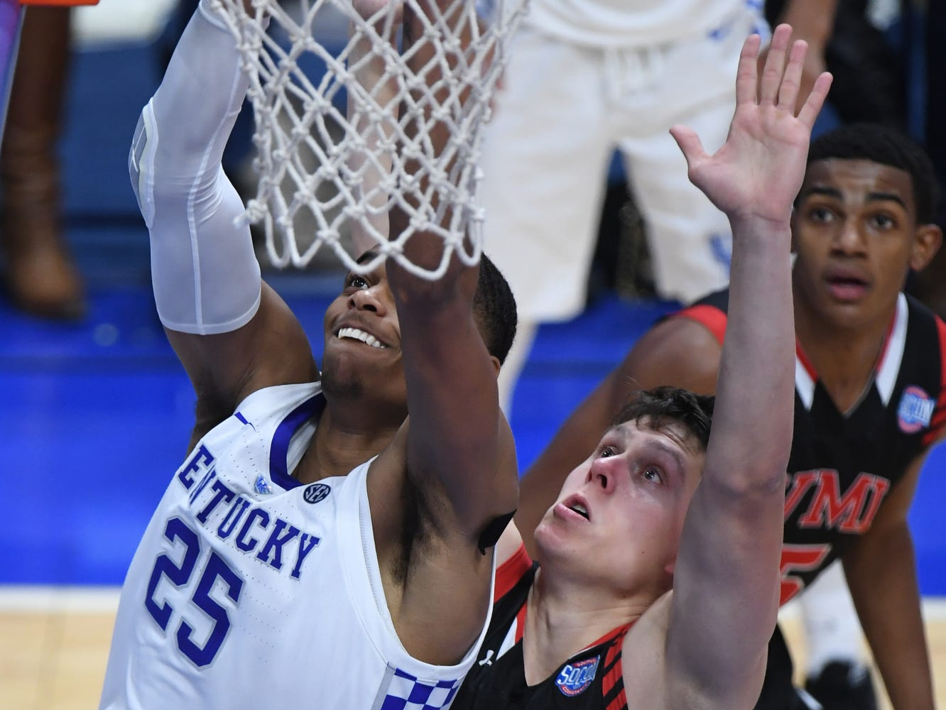 UK F PJ Washington goes up with the ball during the University of Kentucky mens basketball game against VMI at Rupp Arena in Lexington, Kentucky on Sunday, November 18, 2018.