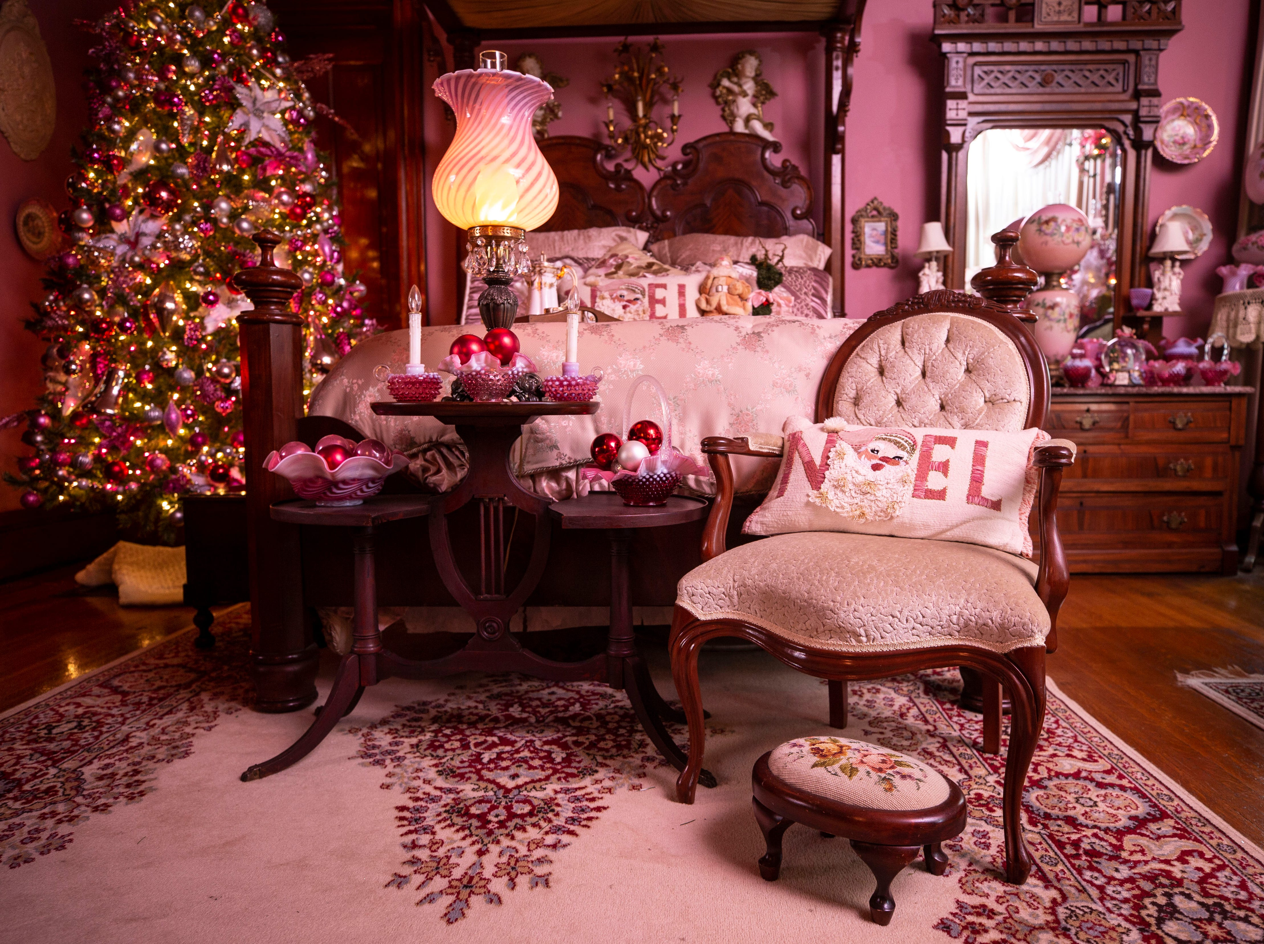 David Brown bought this 6,000-square foot Old Louisville home needing extensive repairs and renovations. Now, the Victorian-era, three-story home is filled with Christmas and Holiday lights, trees and ornaments that is part of the Old Louisville Holiday Home Tour.