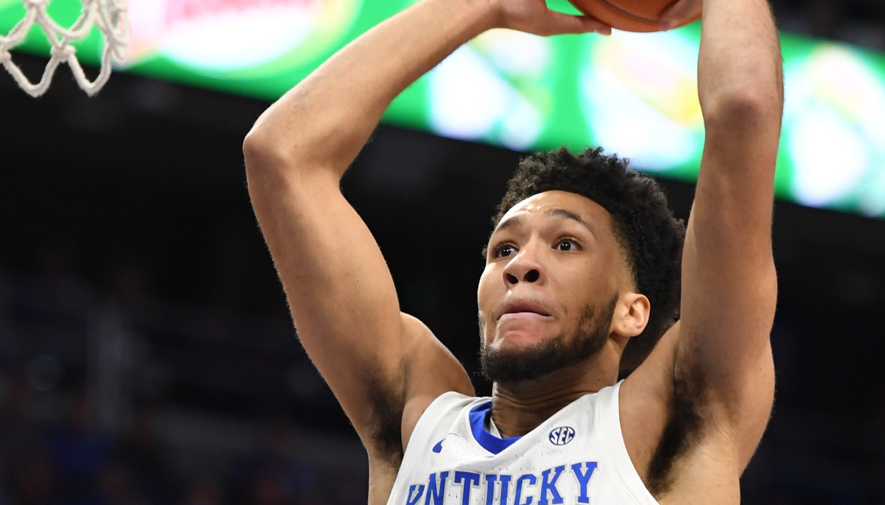 0ae6c2193dab Kentucky basketball  Why EJ Montgomery isn t playing more