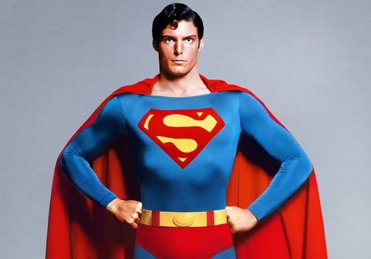 "O Superman: Christopher Reeves as ""Superman"" returns Nov. 27 to the Malco Paradiso."