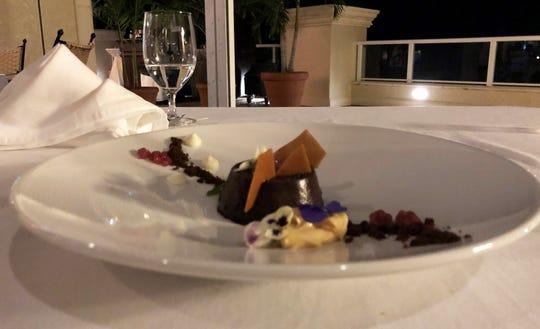 Bonet, a dessert, from Sale e Pepe, Marco Island.
